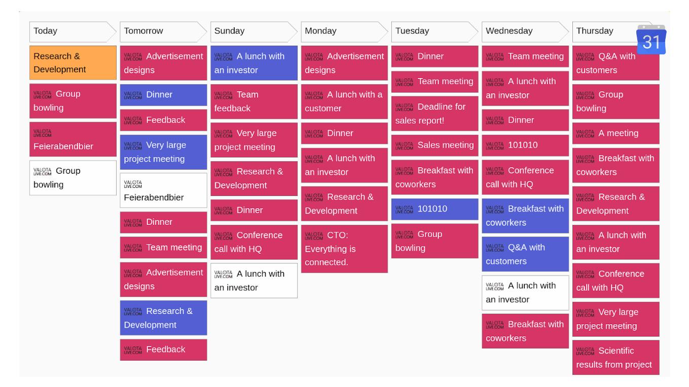 How to display Google Calendar on Digital Signage