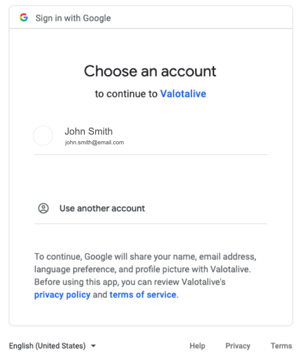 authenticate your google sheets account for digital signage