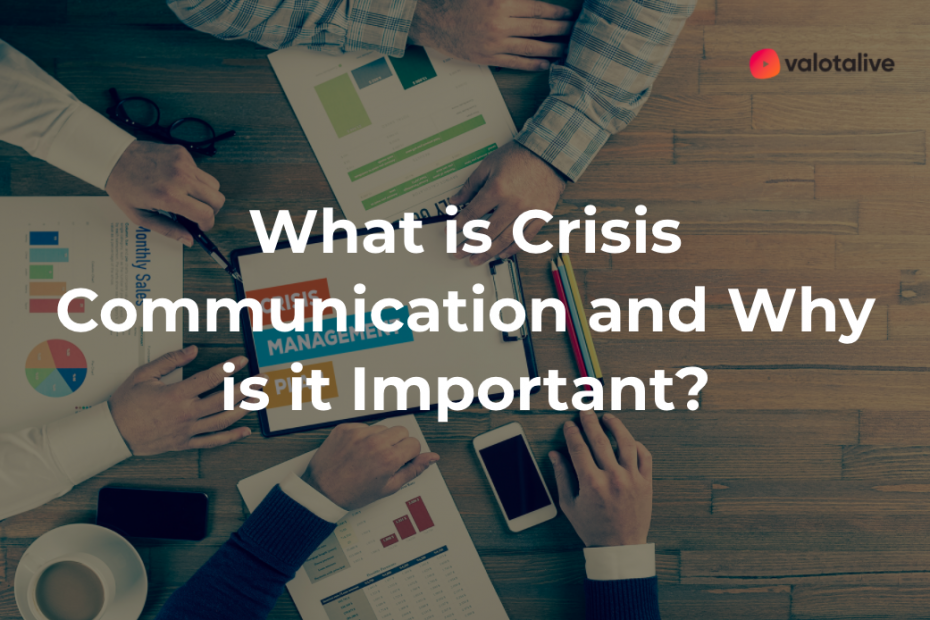 Crisis Communication Plan board - Cover Image for the blog